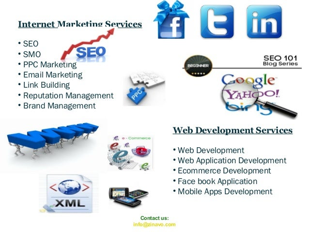 Internet Marketing Services • SEO • SMO • PPC Marketing • Email Marketing • Link Building • Reputation Management • Brand ...