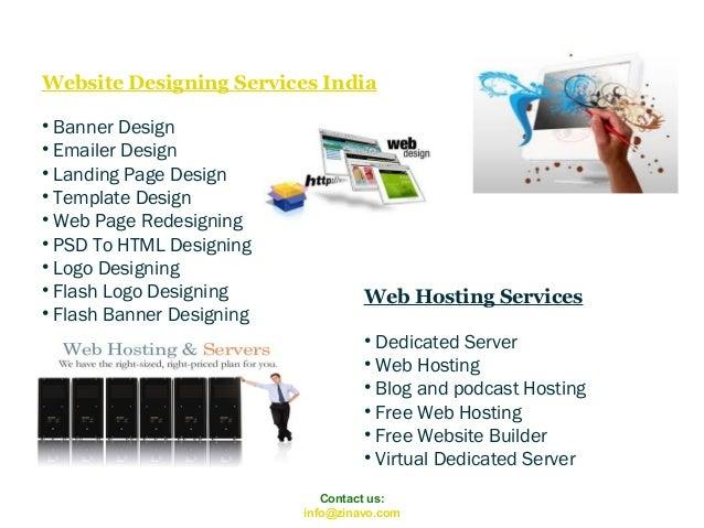 Website Designing Services India • Banner Design • Emailer Design • Landing Page Design • Template Design • Web Page Redes...