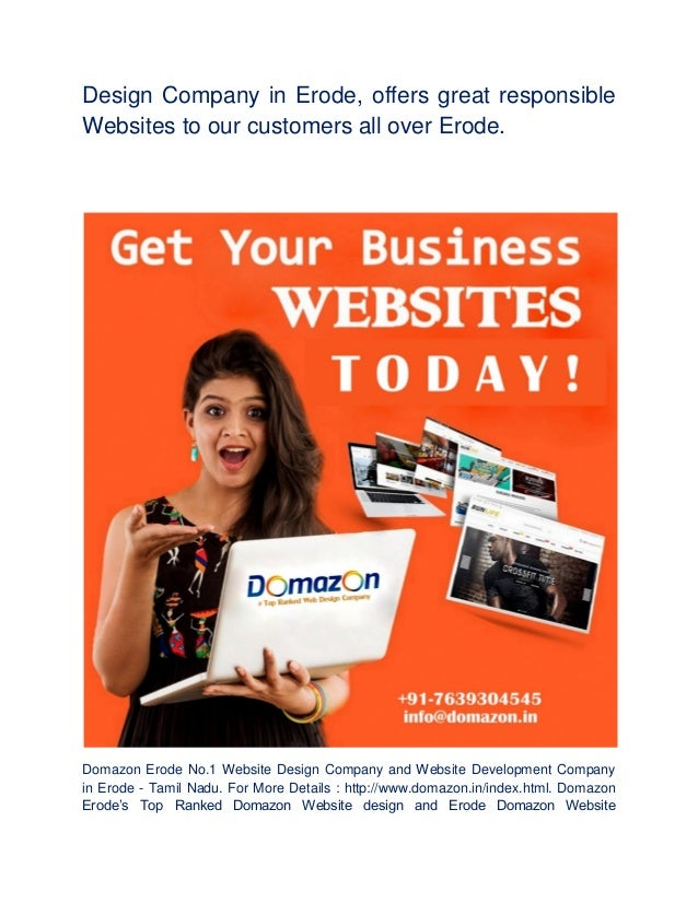 Website design company in erode domazon website development company i…