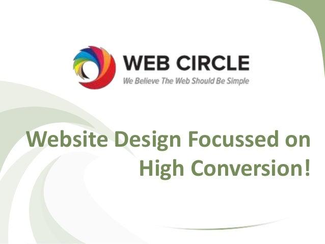 Website Design Focussed on High Conversion!