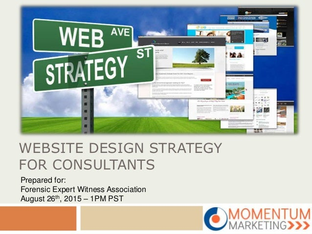 Website design strategy for consultants for Web design consultant