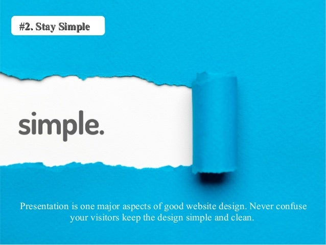 website design ideas to draw more traffic in 2015 - Simple Website Design Ideas