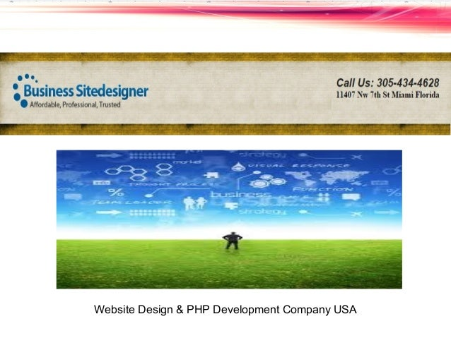 Website design php development company usa for Design company usa