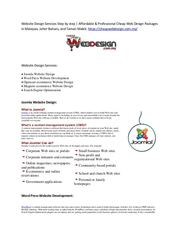 Website Design Services Professional Web Design Packages In Malaysia