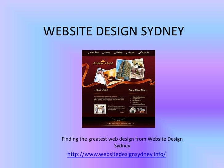 WEBSITE DESIGN SYDNEY  Finding the greatest web design from Website Design                         Sydney    http://www.we...