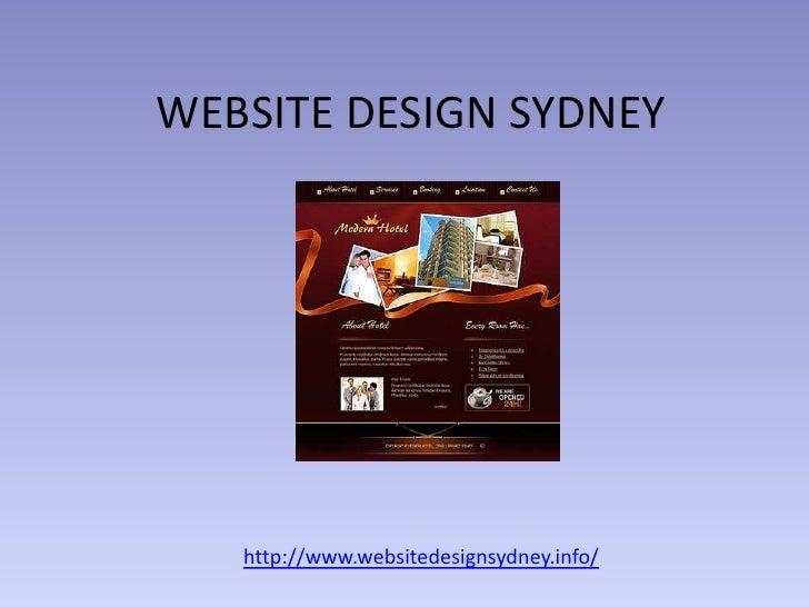 WEBSITE DESIGN SYDNEY   http://www.websitedesignsydney.info/