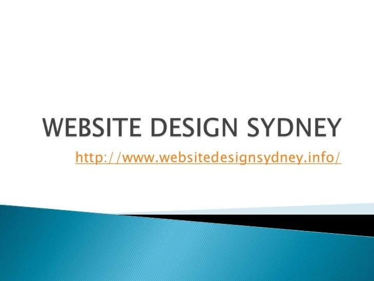 http://www.websitedesignsydney.info/