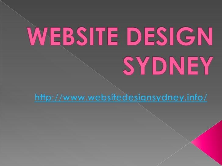 Website DesignSydney: Why HireProfessional Web    Designers