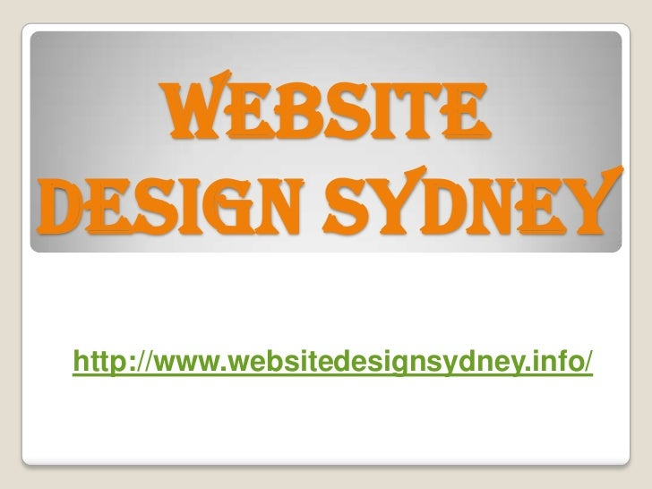 WEBSITEDESIGN SYDNEYhttp://www.websitedesignsydney.info/
