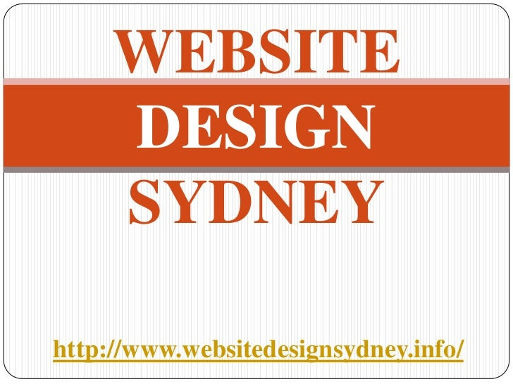 WEBSITE     DESIGN     SYDNEYhttp://www.websitedesignsydney.info/