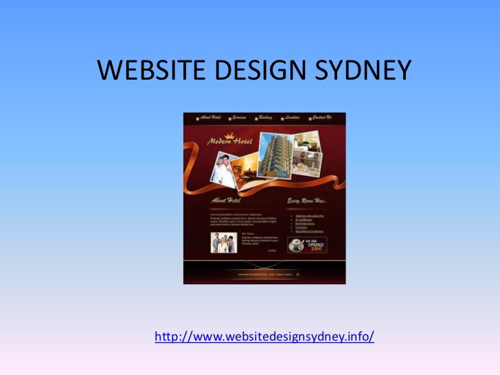WEBSITE DESIGN SYDNEY   http://www.websitedesignsydney.info/