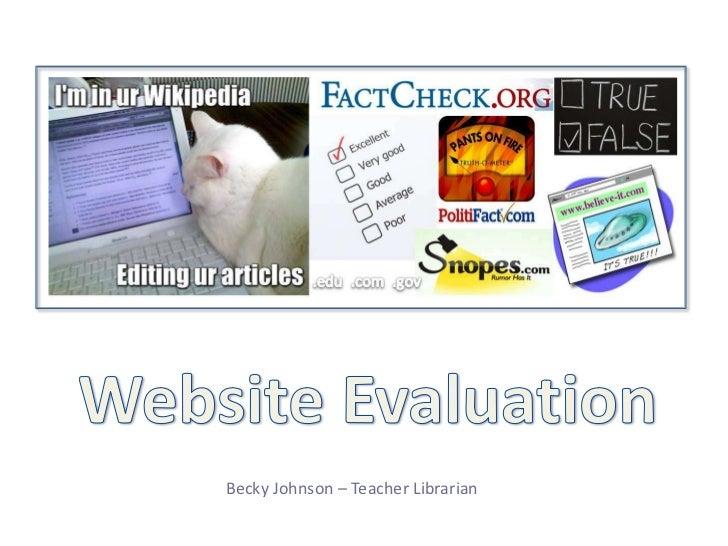 Becky Johnson – Teacher Librarian