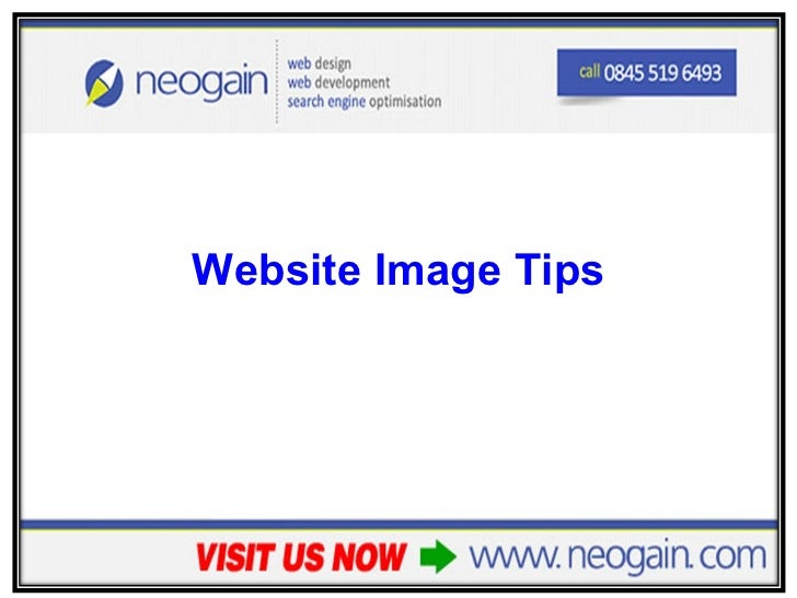 <ul><li>Website Image Tips </li></ul>