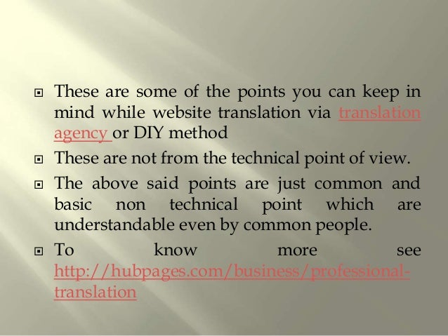  Website translation is gaining more demand than document and other translation process.  Waterstone Translations is one...