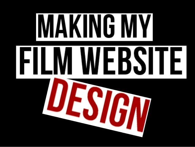 After analysing all the appropriate conventions that make a goodfilm website (see previous presentation) I have managed to...