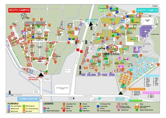 NUIM Campus Map