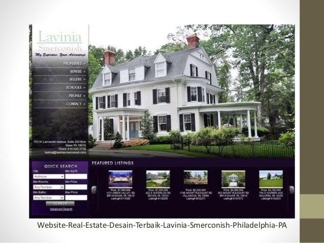 website marketing real estate desain terbaik
