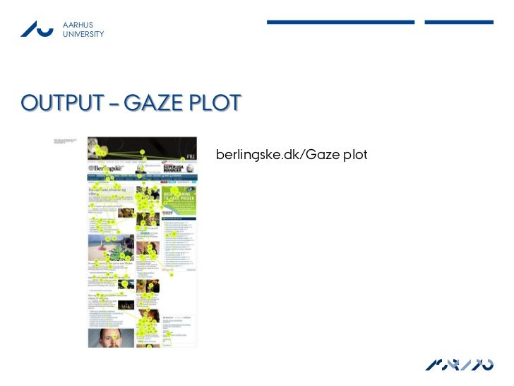 AARHUS   UNIVERSITYOUTPUT – GAZE PLOT                berlingske.dk/Gaze plot                                          ASB ...