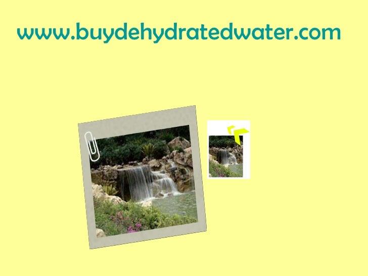 www.buydehydratedwater.com