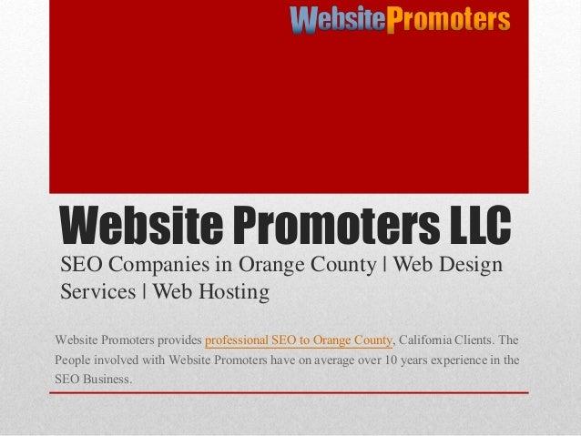 Website Design Services - websitepromoters.com - 웹