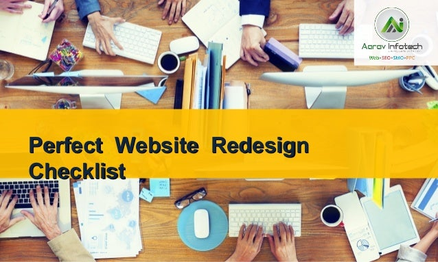 Perfect Website RedesignPerfect Website Redesign ChecklistChecklist