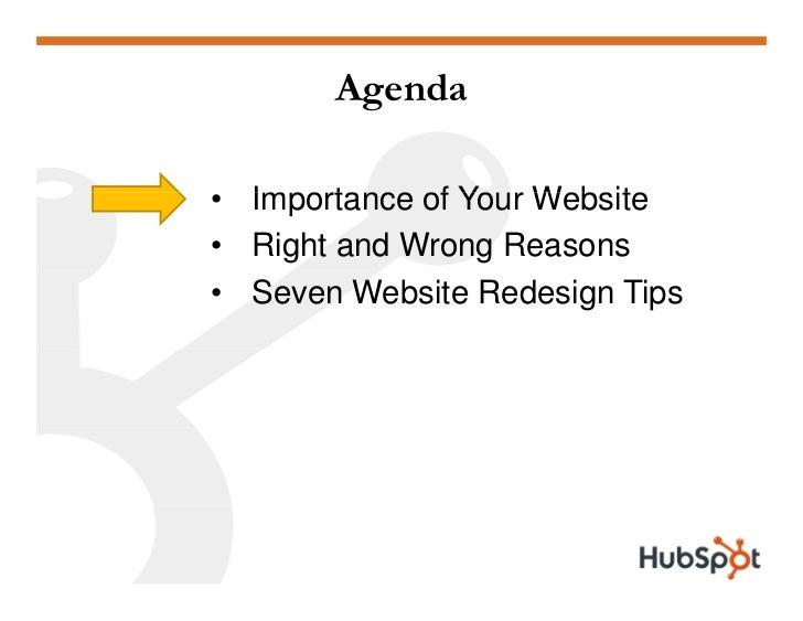 Doing a Website Redesign for Marketing Results Slide 2
