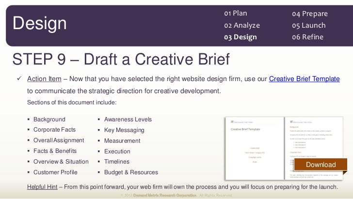 website budget template