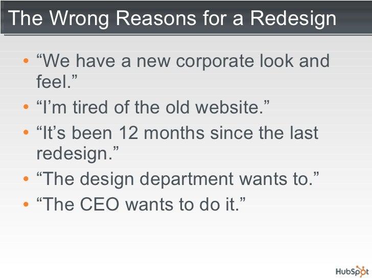Website Redesign Tips Slide 3