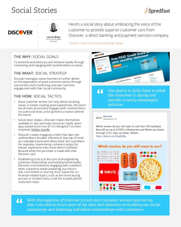 See how Discover Financial increased customer care and loyalty