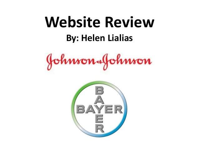 Website Review By: Helen Lialias