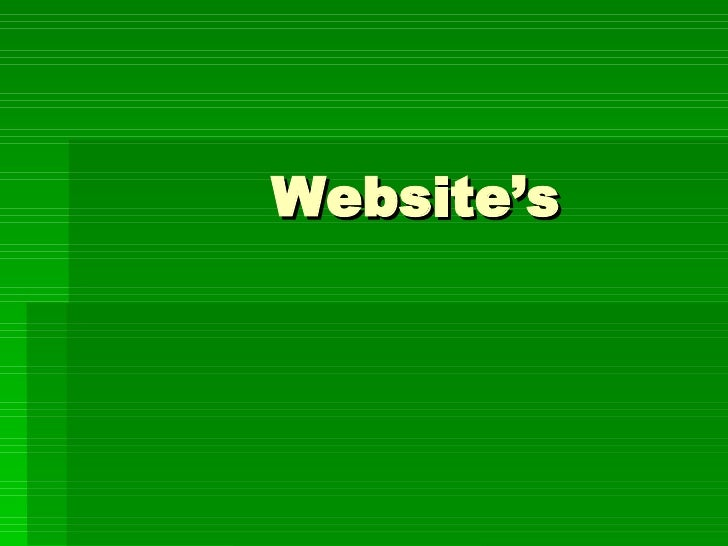 Website's