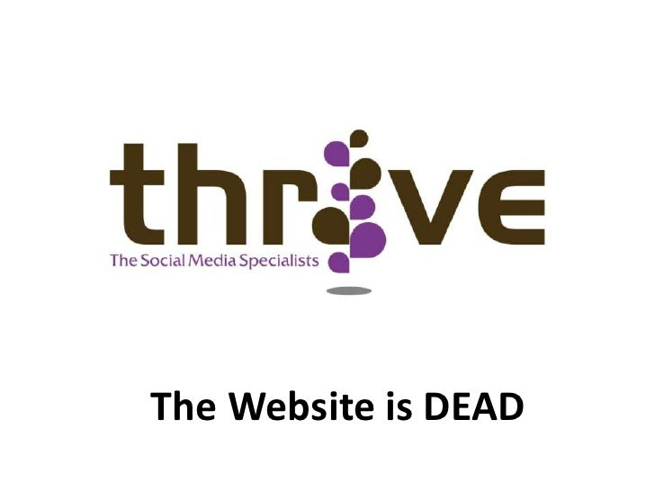 The Website is DEAD<br />
