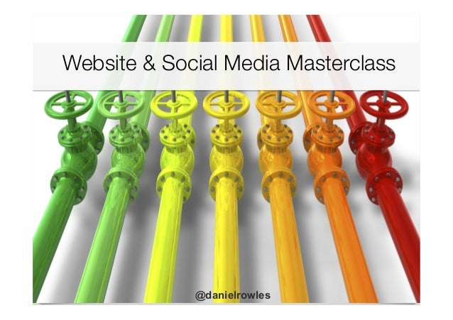 Website & Social Media Masterclass 	    @danielrowles