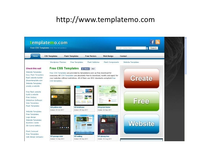Top Free Sites To Download Free Web Templates