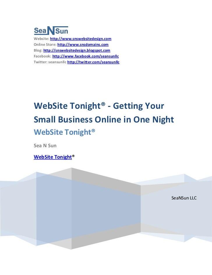 Website: http://www.snswebsitedesign.comOnline Store: http://www.snsdomains.comBlog: http://snswebsitedesign.blogspot.comF...
