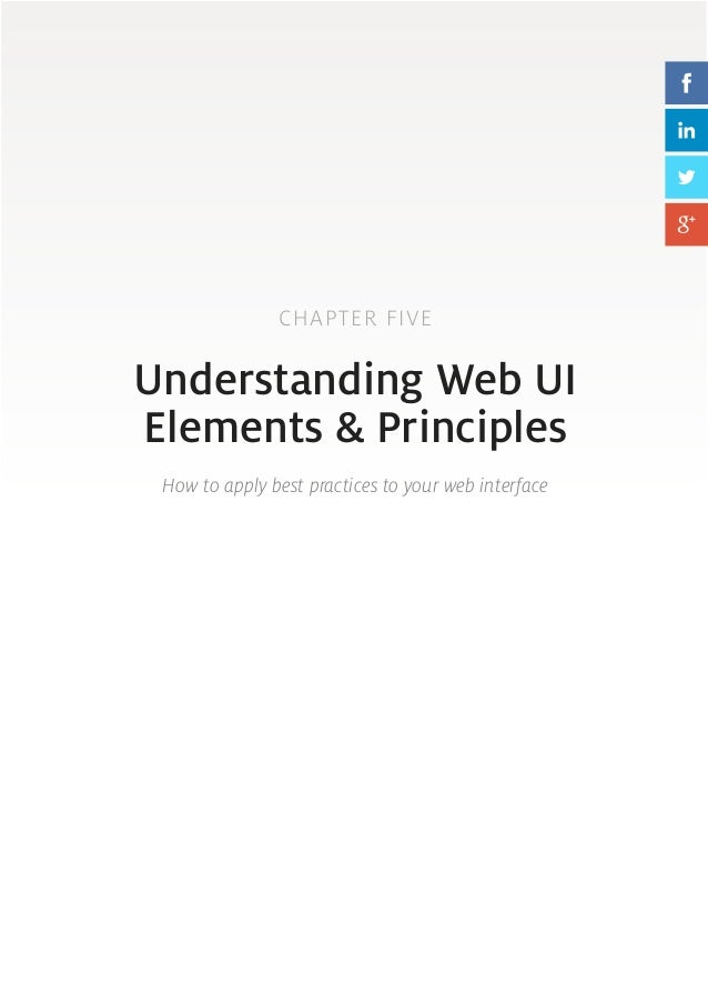 Ux ui principles and best practices 2014 2015 50 51 chapter five understanding web ui elements principles how to apply best practices fandeluxe Choice Image