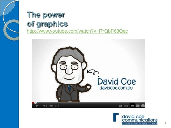 The powerof graphicshttp://www.youtube.com/watch?v=f7rQbP63Qec                                             1