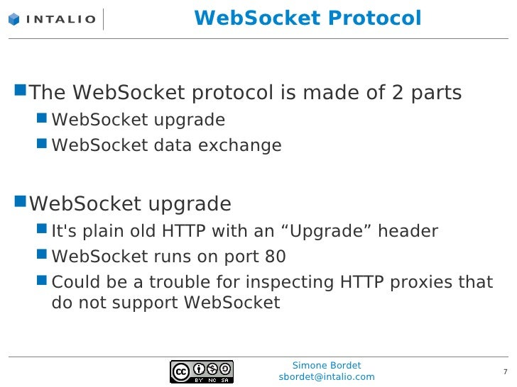 How to write a websocket server support