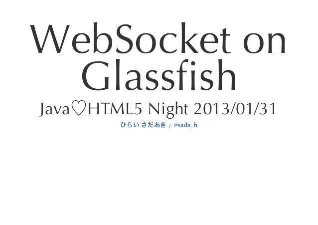 WebSocket on Glassfish