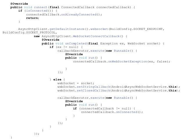 Infinum Android Talks #17 - A quest for WebSockets by Zeljko