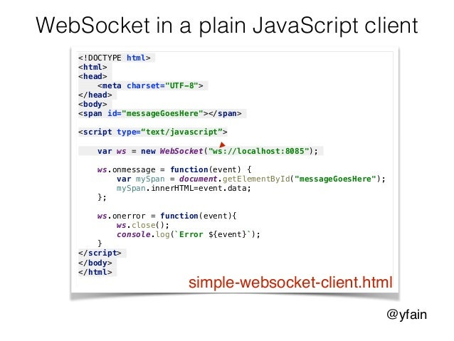 Web sockets in Angular