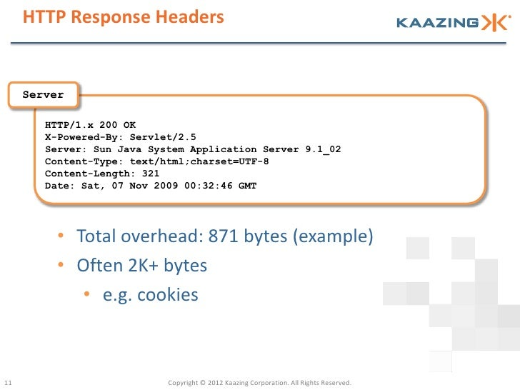 HTTP Response Headers     Server        HTTP/1.x 200 OK        X-Powered-By: Servlet/2.5        Server: Sun Java System Ap...