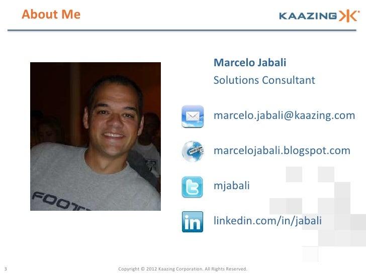 About Me                                                         Marcelo Jabali                                           ...