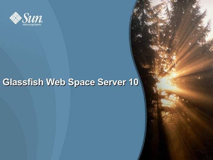 Glassfish Web Space Server 10