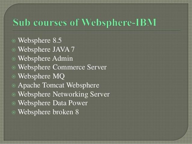 Websphere-IBM Online Job Support