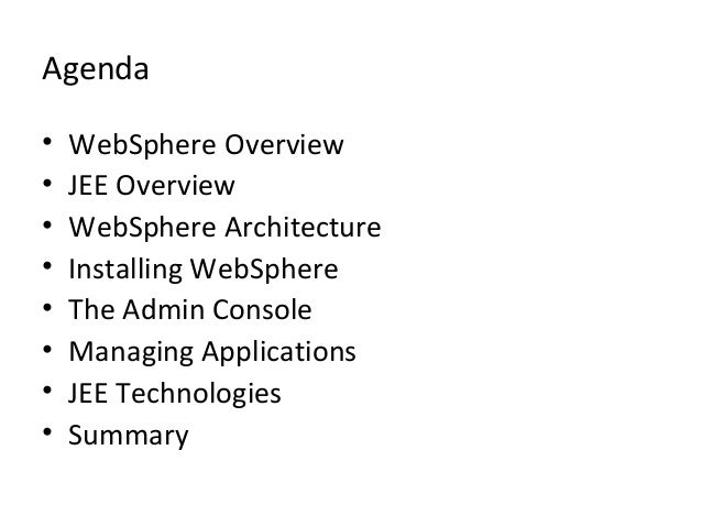 Web sphere administration guide packaging and deploying for Architecture jee