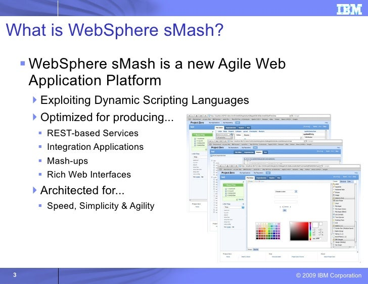 An Introduction to Websphere sMash for PHP Programmers Slide 3
