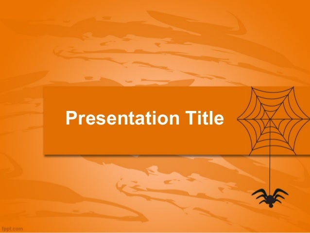 2013 halloween ppt presentation web and spider halloween powerpoint. Black Bedroom Furniture Sets. Home Design Ideas