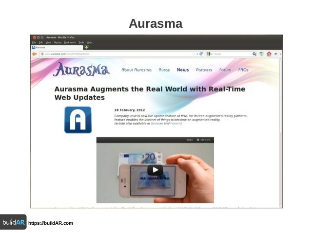 Web Standards adoption in the AR market