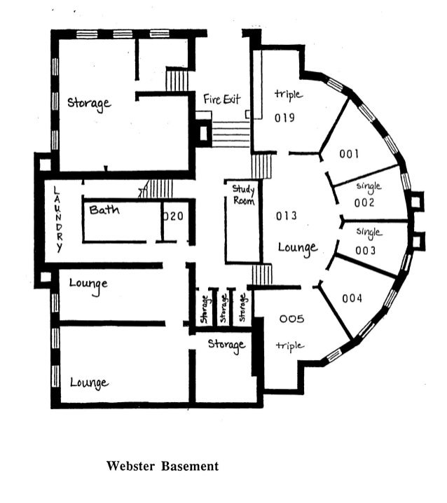 Webster layout